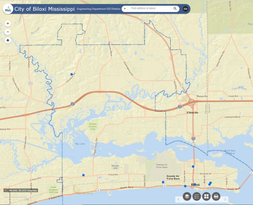 City Of Biloxi Mississippi Planning Zoning Department
